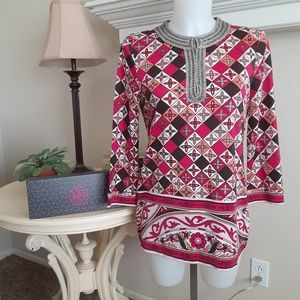 Tory Burch beaded tunic